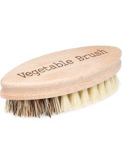 Port-Style Hard & Soft Side Vegetable Brush