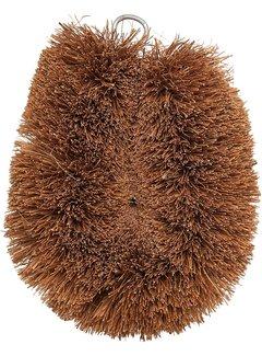 Port-Style Coconut Fiber Vegetable Brush