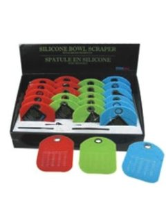 Port-Style Silicone Bowl Scrapers