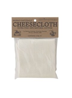 Regency Unbleached Ultra Fine Cheesecloth - 9 Sq Ft