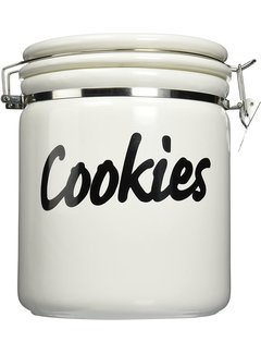 Oggi Ceramic Round Jumbo Cookie Jar - 120 oz