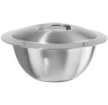 Oggi Hot/Cold Insulated Serving Bowl, Stainless Steel 3 Qt.