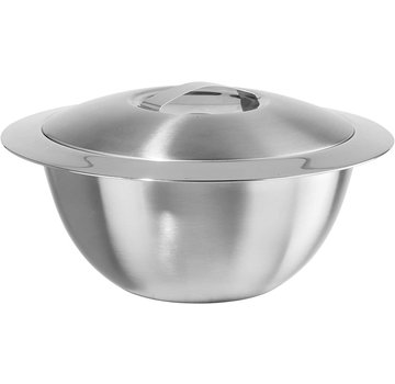 Oggi Hot/Cold Insulated Serving Bowl, Stainless Steel 5 Qt.