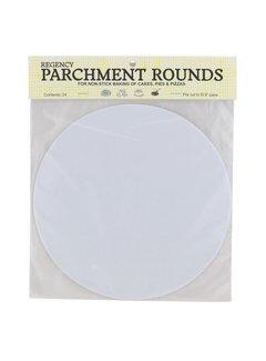 """Regency 9"""" Parchment Rounds - Precut 24/Pk"""