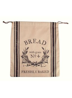 Port-Style Bread Bag 100% Natural Cotton