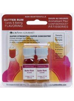 LorAnn Butter Rum Flavor Twin Pk