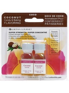 LorAnn Coconut Flavor Twin Pk