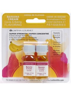 LorAnn Banana Cream Flavor Twin Pk