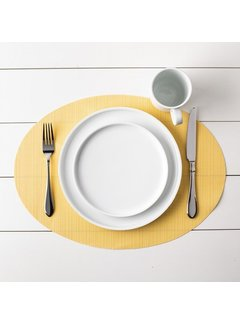 Oval Placemat - Yellow