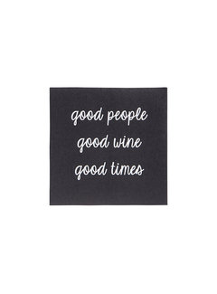 Good People Cocktail Napkins - 20 pack