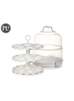 Progressive Cupcake Carrier and Display