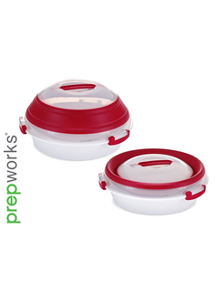 Progressive Collapsible Party Pie/Deviled Egg Carrier