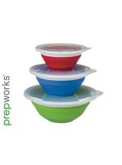 Progressive Collapsible Storage Bowls
