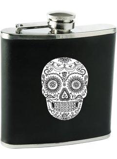True Dia De Los Muertos Soft Touch Flask