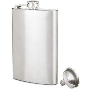 True 8 oz Stainless Steel Flask