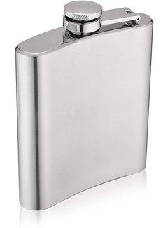 True Brands Trueflask 6oz Stainless Steel Flask