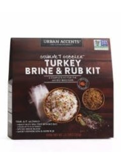 Urban Accents Turkey Brine & Rub Kit