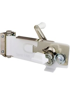 Swing-A-Way Can Opener Wall Mounted White
