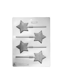 LorAnn Bright Star Lollipop Sheet Mold