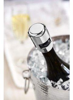 True Fizz™ Chrome Champagne Stopper