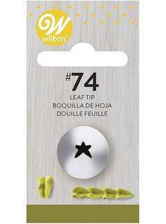 Wilton Leaf Tip #74