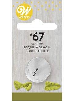 Wilton Leaf Tip #67