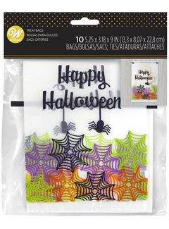Wilton Bakery Bag Web Happy Halloween 10 CT