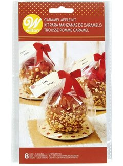 Wilton Caramel Apple Bag Kit 8ct