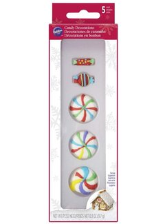 Wilton Colorful Candies Decorations