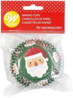 Wilton Santa Cupcake Liners