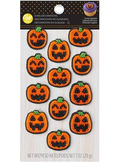 Wilton Dot Matrix Pumpkin 12ct