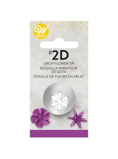 Wilton Large Drop Flower Tip #2D