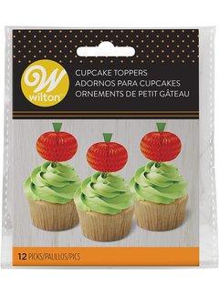 Wilton Pumpkin Cupcake Toppers