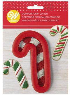 Wilton Comfort-Grip Candy Cane Cookie Cutter