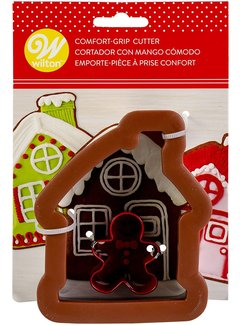 Wilton Comfort-Grip Gingerbread House Cutter