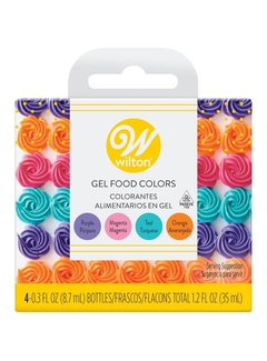 Wilton Neon Gel Icing Colors Set
