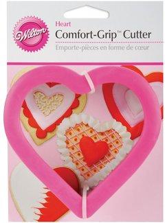 Wilton Comfort-Grip Heart Cookie Cutter