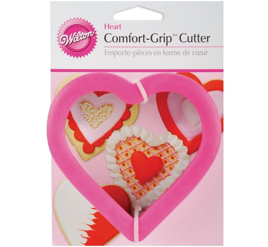 Comfort-Grip Heart Cookie Cutter
