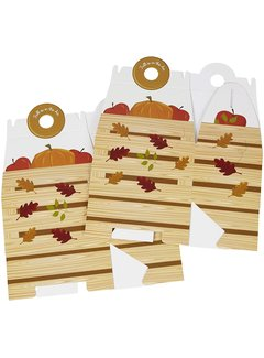 Wilton Autum Treat Box w/ Handle - 2 Count