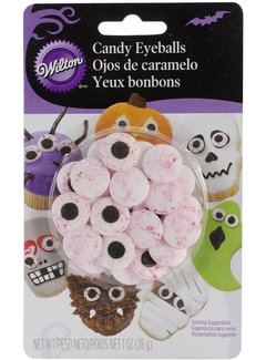 Wilton Red Vein Bloodshot Candy Eyeballs