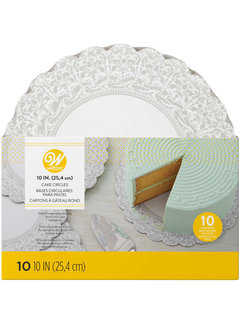 "Wilton 10"" Show N' Serve Cake Boards - 10 Pack"
