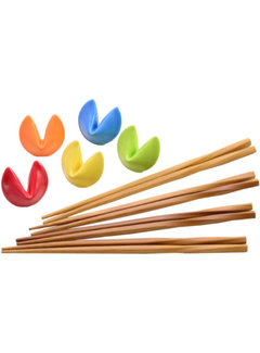 Fuji Chopstick & Rest Set