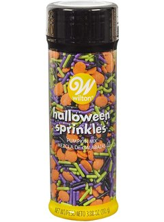 Wilton Halloween Pumpking Sprinkles