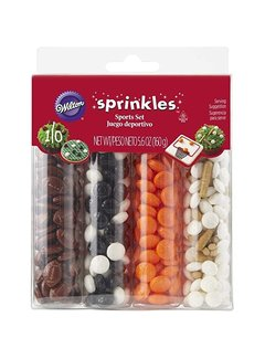 Wilton Tall Sports Sprinkle Set