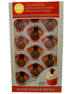 Wilton Turkey Royal Icing Decoration
