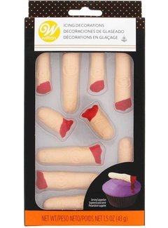 Wilton Severed Finger Royal Icing Decorations