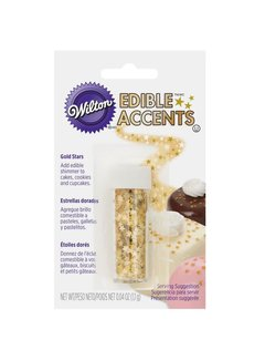 Wilton Gold Stars - Edible Accents