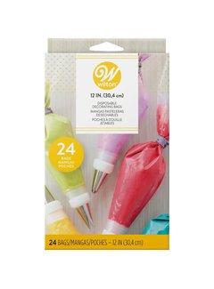 "Wilton Wilton 12"" Disposable Decorating Bags 24 CT"