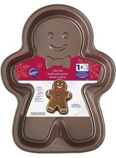 Wilton Gingerbread Boy Brown Cake Pan
