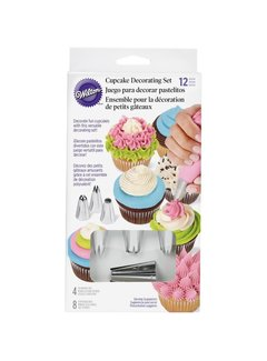 Wilton 12 piecc Cupcake Decorating Set